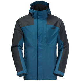 Jack Wolfskin Viking Sky 3in1 Jacket Men dark cobalt
